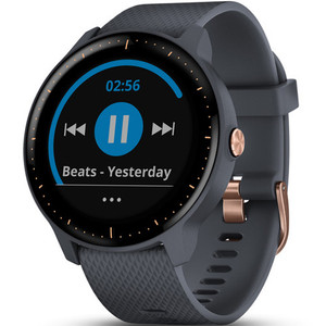 Garmin Vivoactive(3) Music HR Pay Granite Blue 43MM Hybrid Smartwatch 010-01985-32