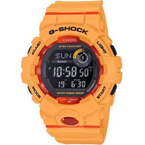 G-Shock Bluetooth Step Tracker Fitness Backlight Digital Orange Watch GBD-800-4ER