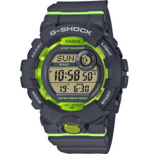 G-Shock Bluetooth Step Tracker Fitness Green Details Backlight Digital Watch GBD-800-8ER