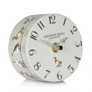Thomas Kent Portobello Ducks & Drakes Mantel Clock CKK4027