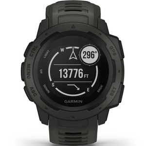 Garmin Instinct Military GPS Multi-Sport Multi-Sensor HR Graphite Watch 010-02064-00