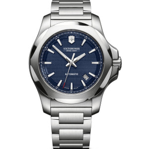 Victorinox Men's Swiss Army I.N.O.X Automatic Sapphire Bracelet Watch 241835