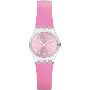 Swatch Original Lady Sonnenaufgang Silicone Strap Watch LK380