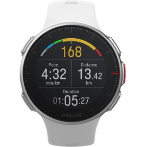 Polar Vantage V Premium GPS Multi-Sport White Watch 90070736