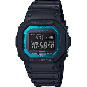 G-Shock Radio Controlled Tough Solar Bluetooth Blue Dial Black Strap Watch GW-B5600-2ER