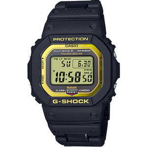 G-Shock Radio Controlled Tough Solar Bluetooth Gold And Black Bracelet Watch GW-B5600BC-1ER