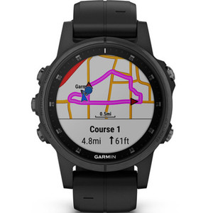 Garmin Fenix 5S Plus Sapphire GPS 42MM Watch 010-01987-03