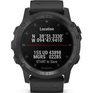 Garmin Tactix Charlie GPS Sapphire Titanium Multi-Sport HR Smartwatch 010-02085-00