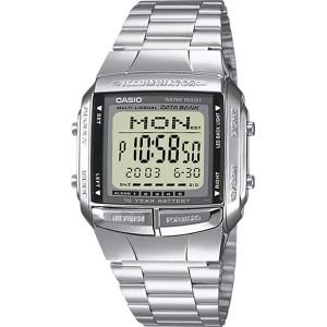 Casio Men's Databank Alarm LED Light Bracelet Watch DB-360N-1AEF