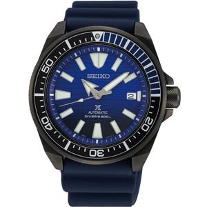 Seiko Prospex Samurai Save The Ocean Automatic Diver's Blue Dial Strap Watch SRPD09K1