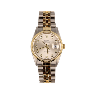 Pre-Owned Rolex Datejust With Diamonds And Jubilee 18ct Gold & Steel Bracelet 16233