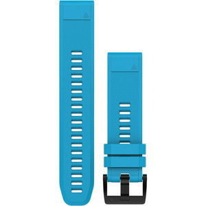 Garmin Quick Fit 22mm Cirrus Blue Silicone Watch Strap 010-12496-04