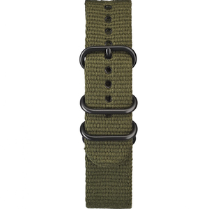 Elliot Brown 22mm Olive Nato Ballistic Nylon Strap STR-N01