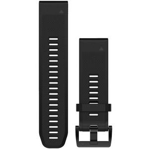 Garmin Quick Fit 22mm Black Silicone Watch Strap 010-12496-00