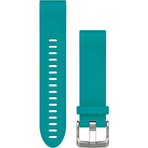 Garmin Quick Fit 20mm Turquoise Silicone Watch Strap 010-12491-11