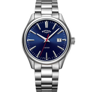 Rotary Men's Oxford Sapphire Blue Dial Bracelet Watch GB05092/53