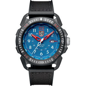 Luminox Men's ICE-SAR Arctic Sapphire Carbonox Case Blue Dial Rubber Strap Watch XL.1003