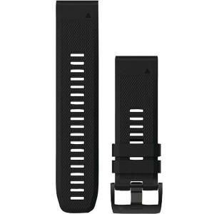 Garmin Quick Fit 26mm Black Silicone Watch Strap 010-12517-00