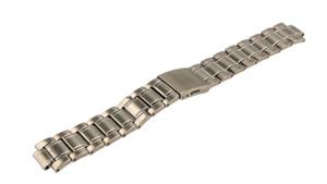 Seiko 20mm Silver Bracelet Watch Strap M0BN211J0