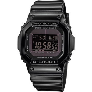 G-Shock Radio Controlled Tough Solar World Time Black Resin Strap Watch GW-M5610BB-1ER