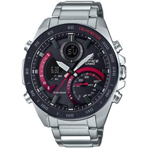 Casio Edifice Bluetooth Tough Solar World Time Silver Bracelet Watch ECB-900DB-1AER
