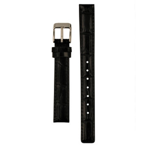 Radley 15mm Black Leather Watch Strap For RY2007