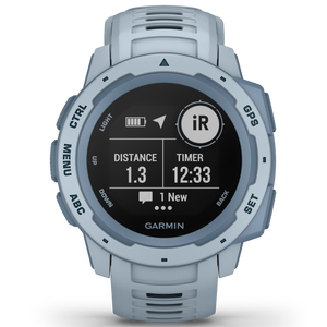 Garmin Instinct Military Sea Foam Watch 010-02064-05