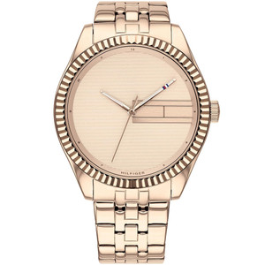 Tommy Hilfiger Lee Ladies Rose Gold Bracelet Watch 1782082