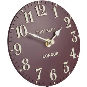 "Thomas Kent 6"" Arabic Berry Mantel Clock AMC06042"