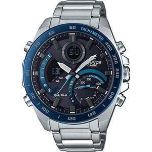 Edifice Bluetooth Tough Solar World Time Blue Chronograph Watch ECB-900DB-1BER