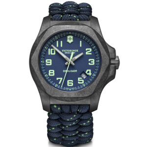 Victorinox Swiss Army I.N.O.X. Carbon Sapphire Blue Strap Watch 241860