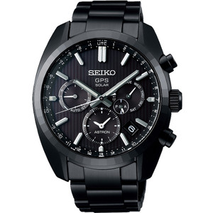 Seiko Astron Limited Edition Solar GPS Chronograph Perpetual Calendar Watch SSH023J1