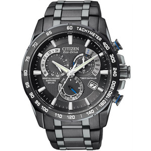Citizen Atomic Timekeeping Perpetual Calendar Black Watch AT4007-54E