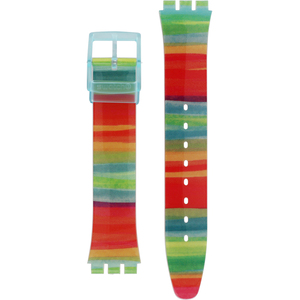 Swatch Watch Strap Colour The Sky AGS124