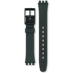 Swatch Watch Strap Classic Black AL0000 14mm With Free Battery