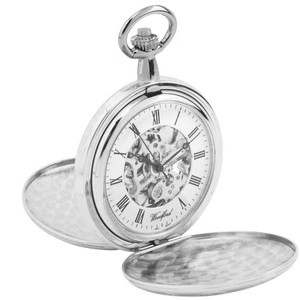 Woodford Skeleton Pocket Full Hunter Watch With Free Engraving 1062