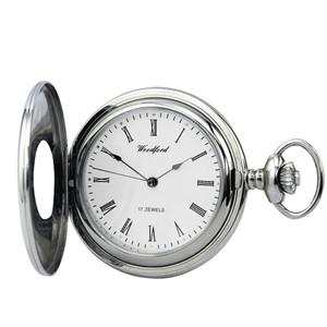 Woodford Skeleton Half Hunter Pocket Watch With Free Engraving 1080
