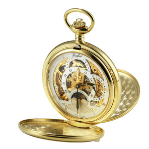 Woodford Skeleton Full Hunter Pocket Watch With Free Engraving 1051