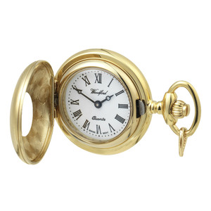 Woodford Pendant Half Hunter Watch With Free Engraving 1216