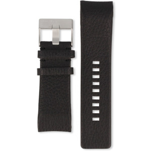 Diesel Replacement Watch Strap For DZ4032 Black Leather