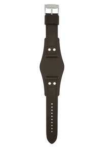 Fossil Watch Replacement Strap for CH2565 Brown Genuine Leather With Free Pins