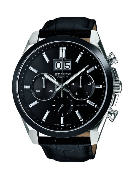 ccca7ba49eab Casio Edifice Chronograph Watch EFB-502BL-1AVER