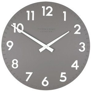 Thomas Kent Camden Designer Wall Clock Slate Colour CK12112 (30 cm)
