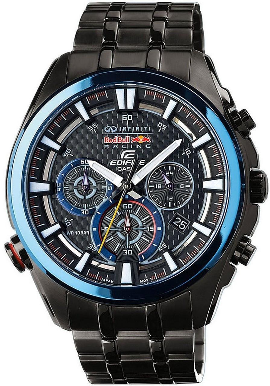 bdcf99341366 Casio Edifice Bull Infiniti Racing Watch EFR-537RBK-1AER