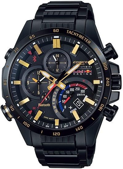 41e7325730bf Casio Edifice Bluetooth Bull Watch EQB-500RBK-1AER