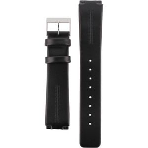 Skagen Black Leather Watch Strap for 433LSLC