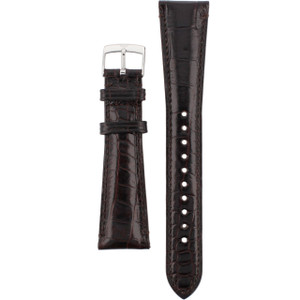 Armani Replacement Watch Strap For AR0203 Brown Genuine Leather