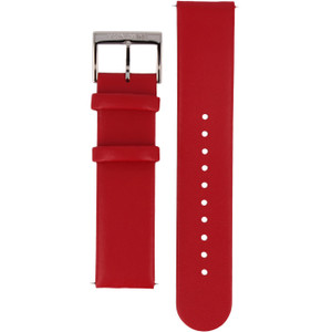 Mondaine Replacement Watch Strap Red Leather 20mm FE1622030Q For Evo Watches
