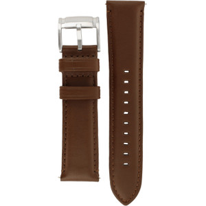 4b080d55bfb7 Replacement Strap for Fossil FS4813 Brown Genuine Leather With Free Pins