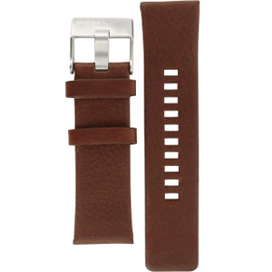 Diesel Replacement Watch Strap Brown Genuine Leather For DZ4290
